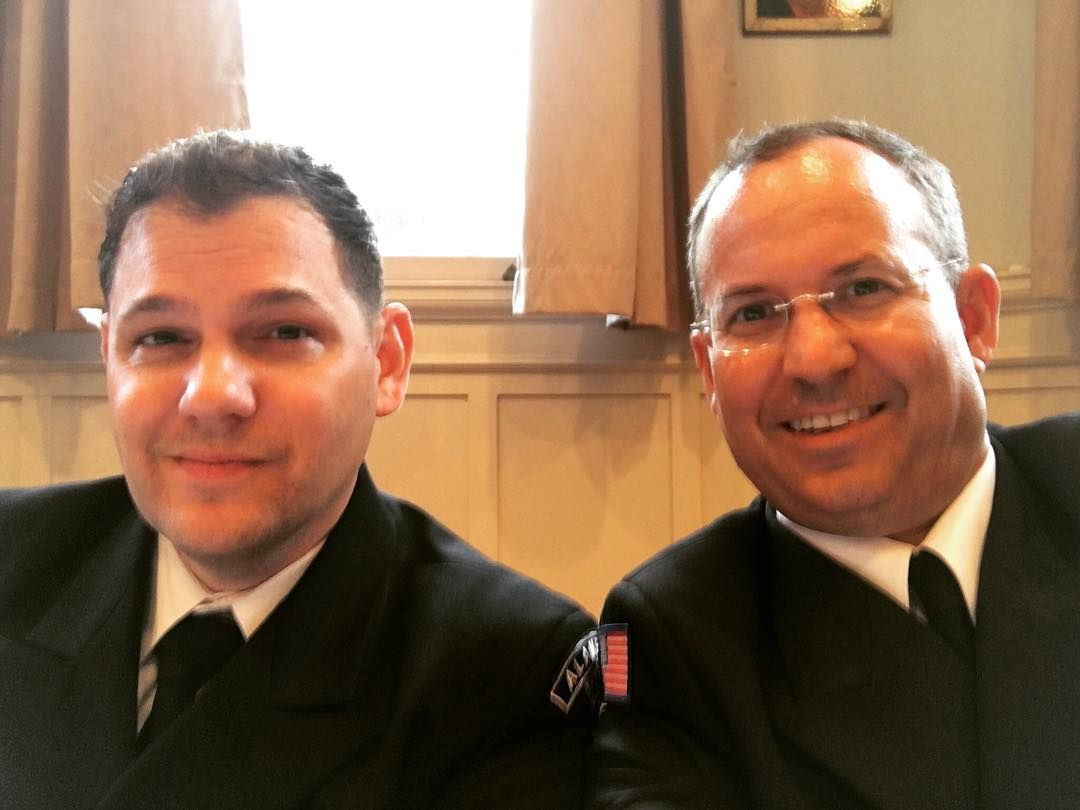 Kris Leverich and I earned Quartermaster together in 1994