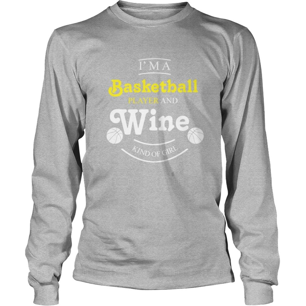 I Am A Basketball Player And #Wine Kind Of Girl TShirt, Order HERE ==> https://www.sunfrog.com/Pets/123046137-667503600.html?89699, Please tag & share with your friends who would love it, #birthdaygifts #renegadelife #superbowl