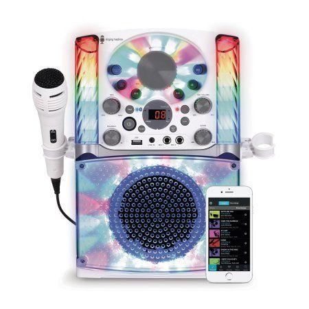 Singing Machine SML625BTW Bluetooth CD+G Karaoke System #karaokesystem