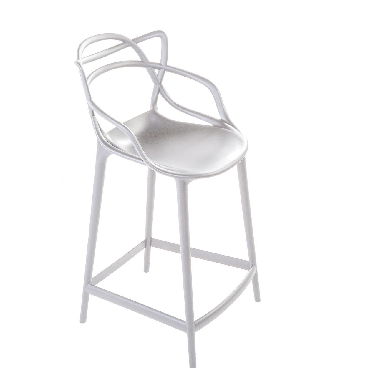 Mid Century Modern Reproduction Masters Counter Stool White Inspired By Philippe Starck Counter Stools Bar Stools Stool
