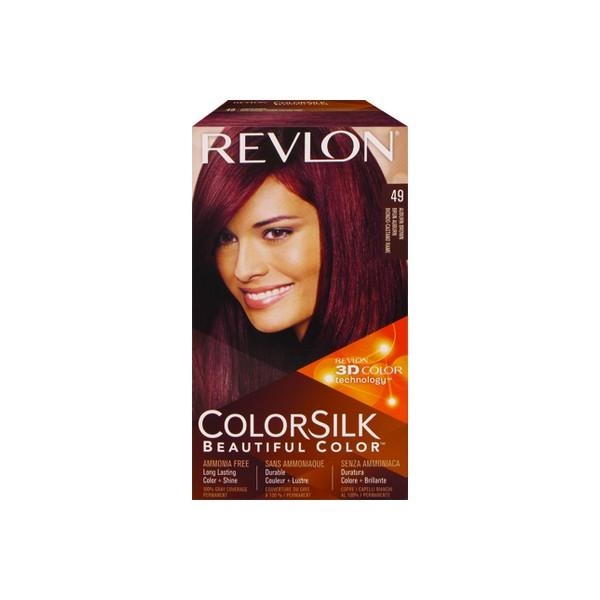 Revlon Colorsilk Beautiful Color Hair Color 49 Auburn Brown Hair