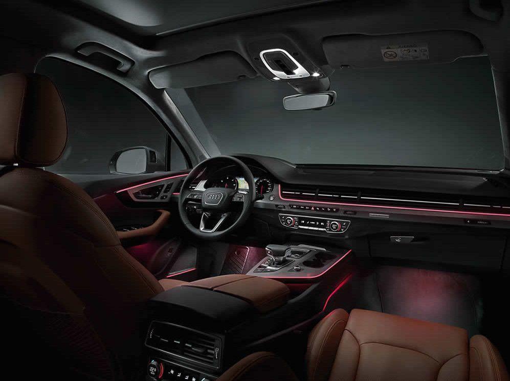 Audi Q7 2016 Ambient Lighting Audi Super Cars Audi Q7