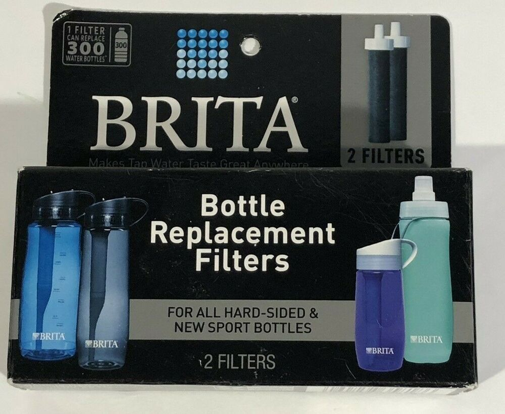 Brita water filter hard sided water bottle replacement