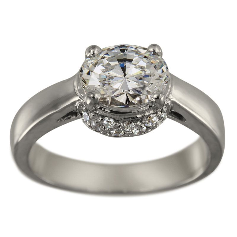 one carat diamond ring oval cut diamond engagement ring. Black Bedroom Furniture Sets. Home Design Ideas