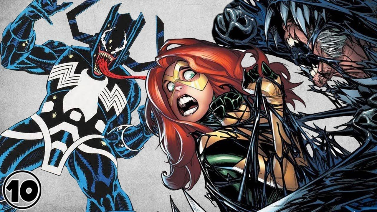 Top 10 Characters That Wore The Venom Symbiote - YouTube ...