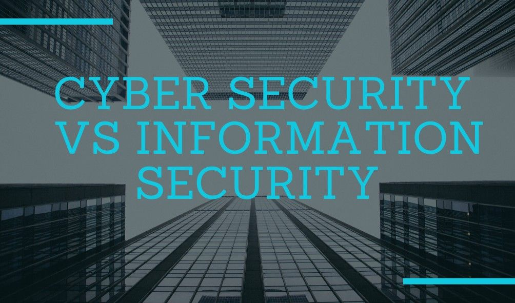 Cyber Security Vs Information Security Cyber Security Cyber Security