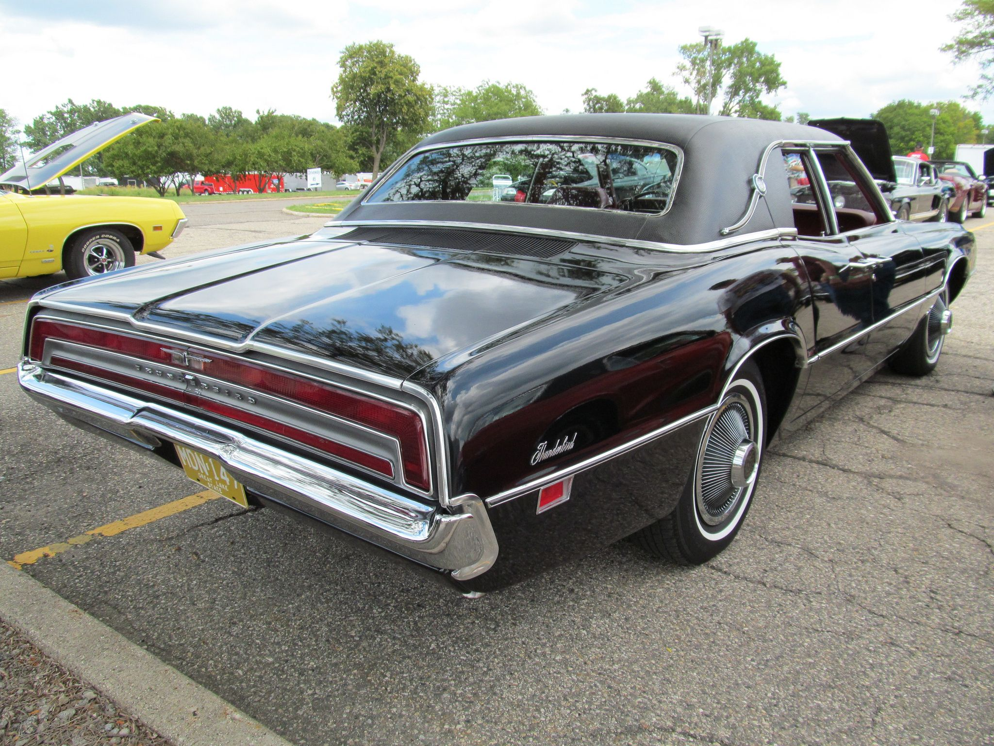 1970 Ford Thunderbird 4 Door With Images Ford Thunderbird