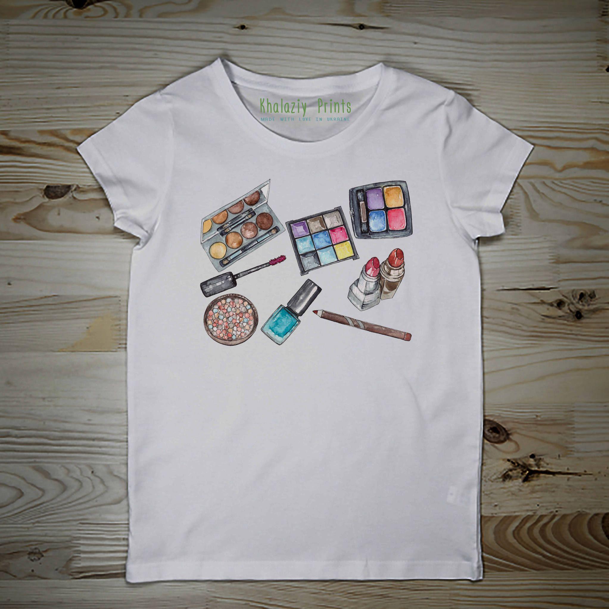 T Shirt Cosmetics T Shirt Make Up Fashion T Shirt Tshirt