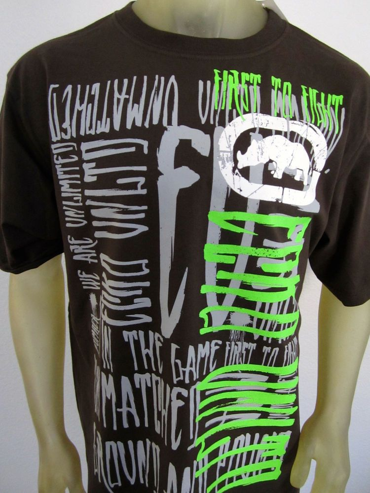 NWT Ecko Unltd Rhino men's UFC MMA Fight gear War Boxing