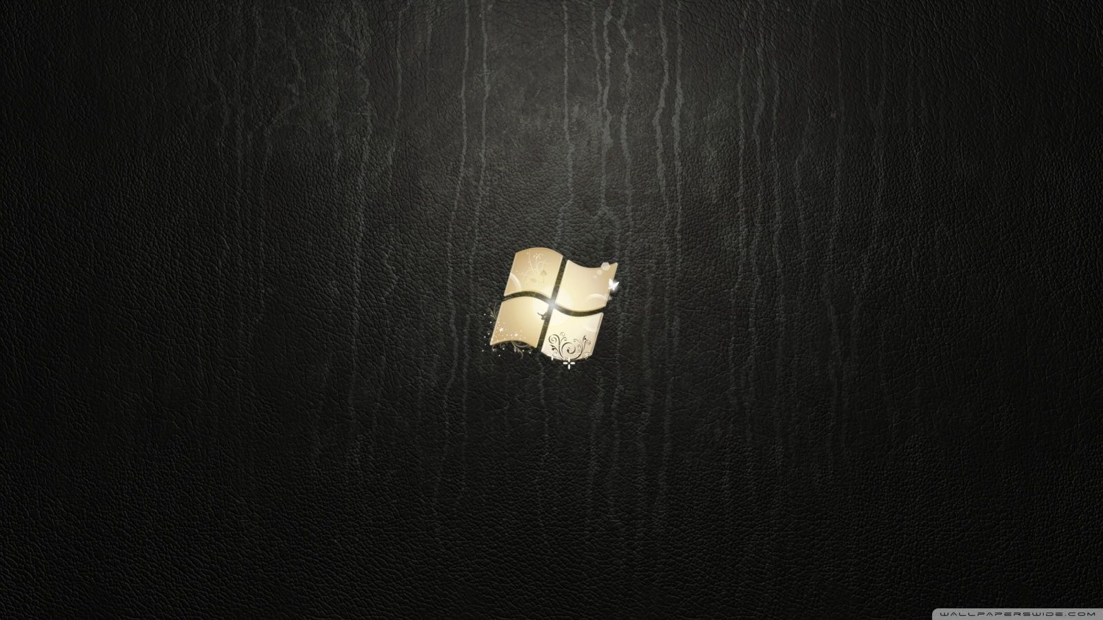 Windows 7 Ultimate Leather Hd Desktop Wallpaper Fullscreen Dual Windows Wallpaper Hd Cool Wallpapers Dark Wallpaper