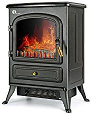 best electric fireplace stove heaters are energy efficient read our rh pinterest at