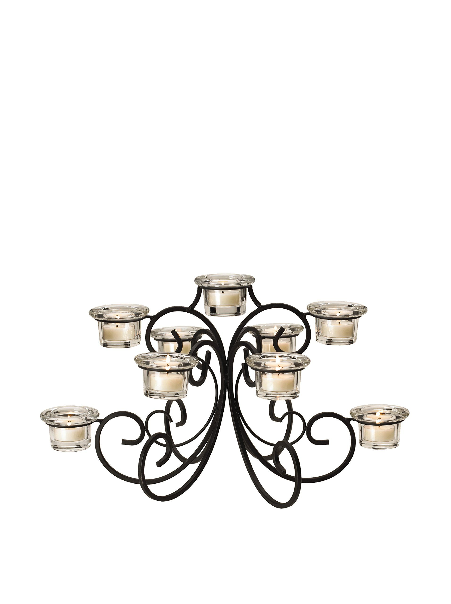 This beautiful Mikasa tealight centerpiece casts a warm ambient light in any room while also bringing a sophisticated touch of elegance to your home.  sc 1 st  Pinterest & Mikasa 9-Tealight Waterfall Centerpiece 18-Inch at MYHABIT ... azcodes.com