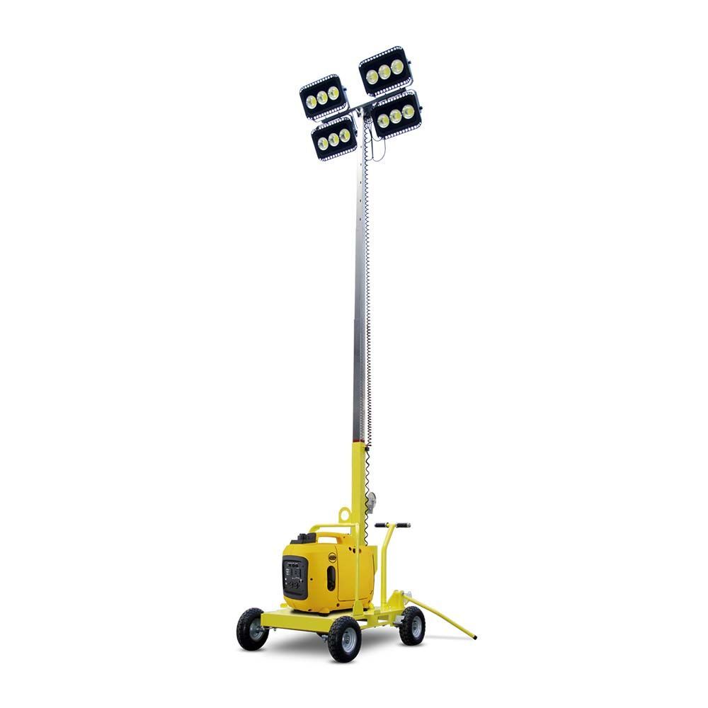 Diesel And Gasoline Petrol Portable Generator Mobile High Mast Light Tower Generator View Light Tower Itc Power Product Details From Changzhou Itc Power Equip Portable Generator Tower Light Petrol