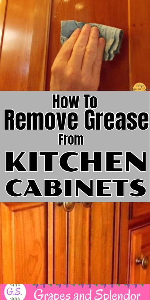 How to clean and remove crease from your wooden kitchen ...