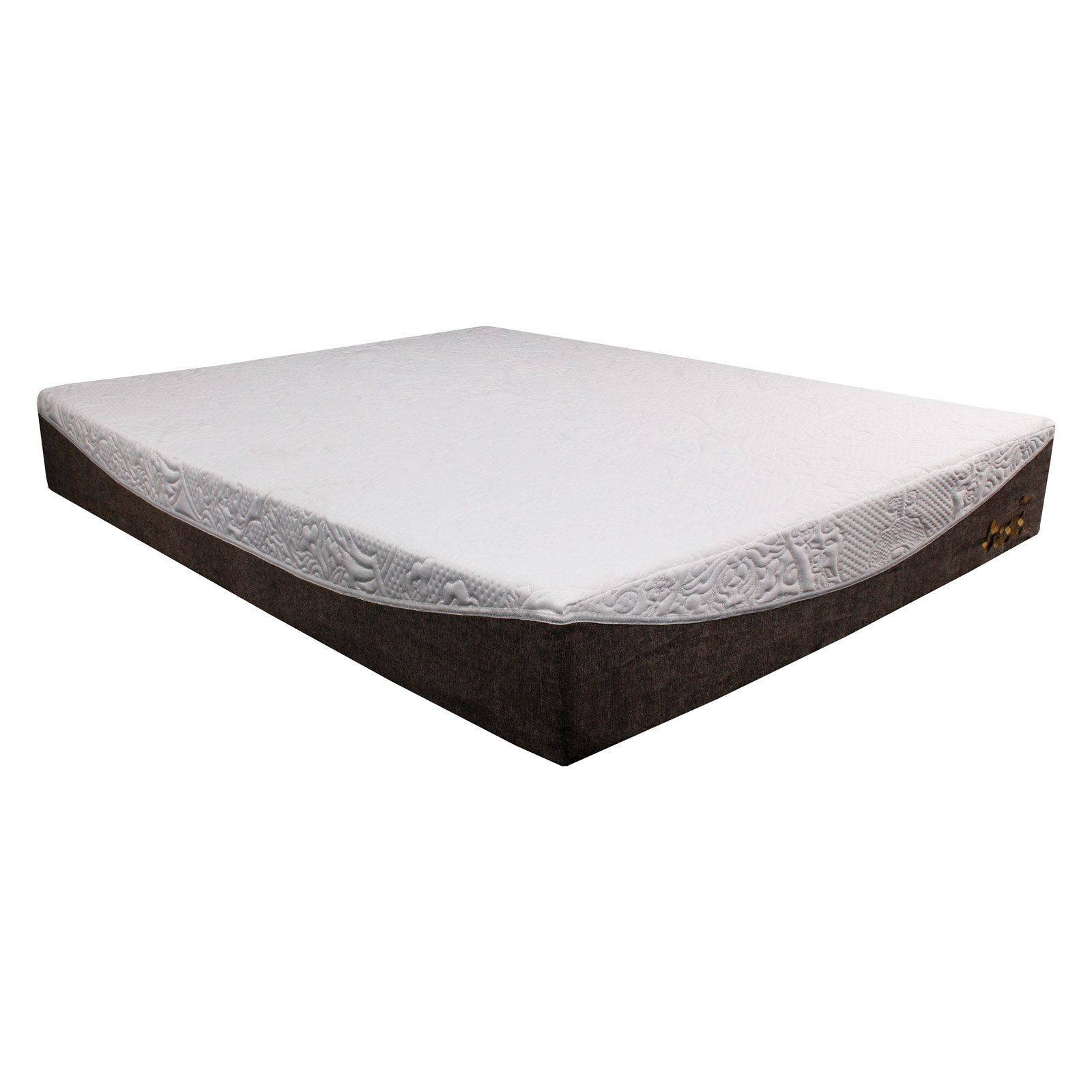Best Master Furniture Oasis 10 In Gel Infused Memory Foam