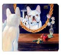 French Bulldog Mouse Pad / Hot Pad / Trivet