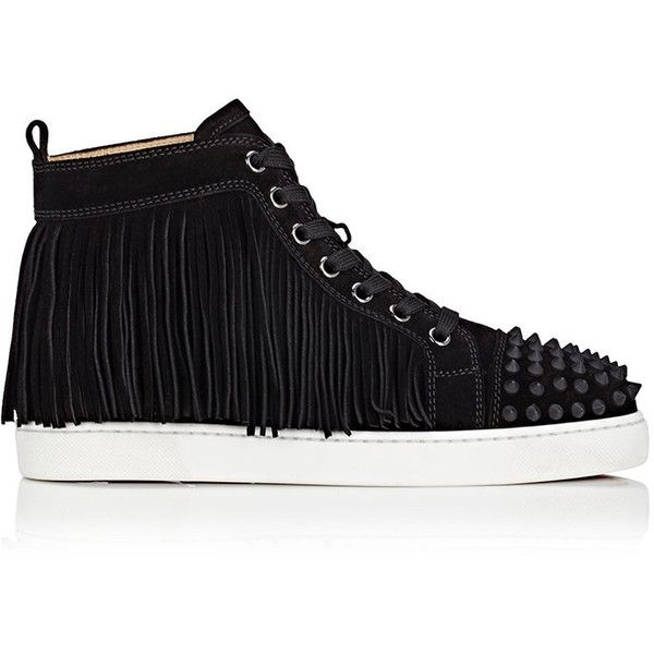 new product bdbb5 54e3a Christian Louboutin Women's Coachelita Suede Sneakers ...