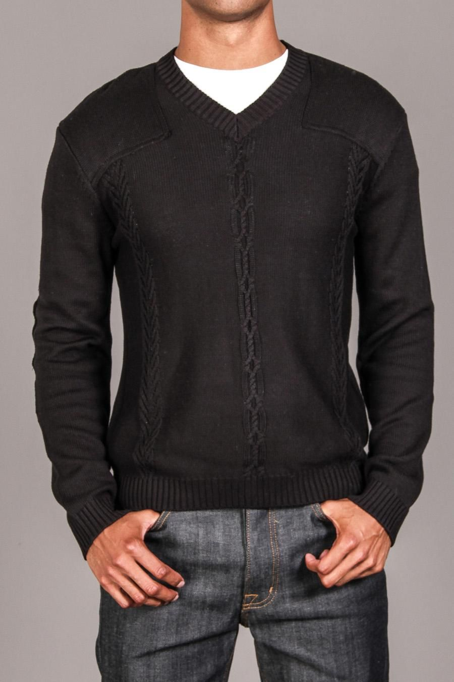 Black Cable Knit Sweater For Dudes Pinterest Cable Knit