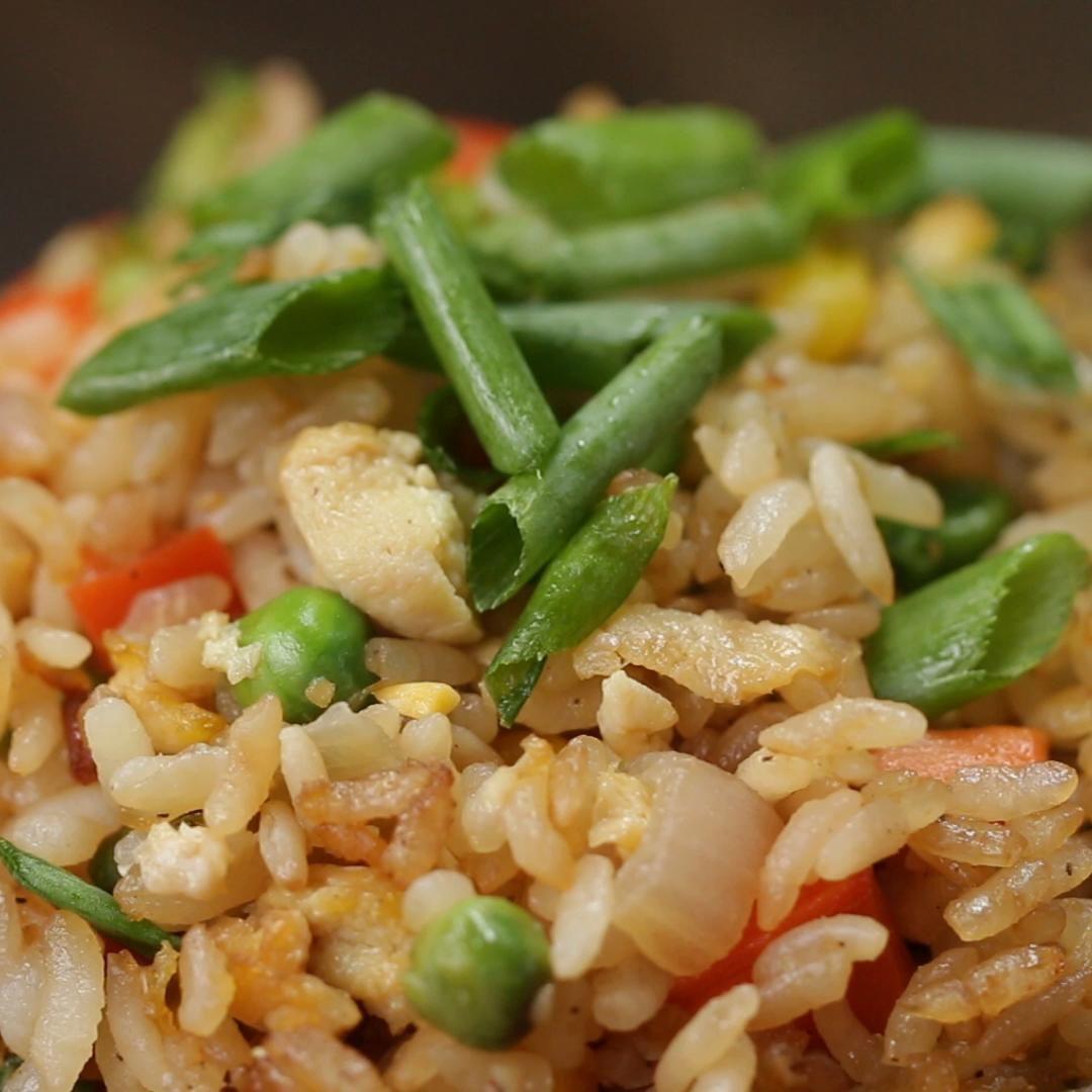 veggie fried rice recipe by tasty recipe veggie fried rice fried rice recipe fried rice pinterest