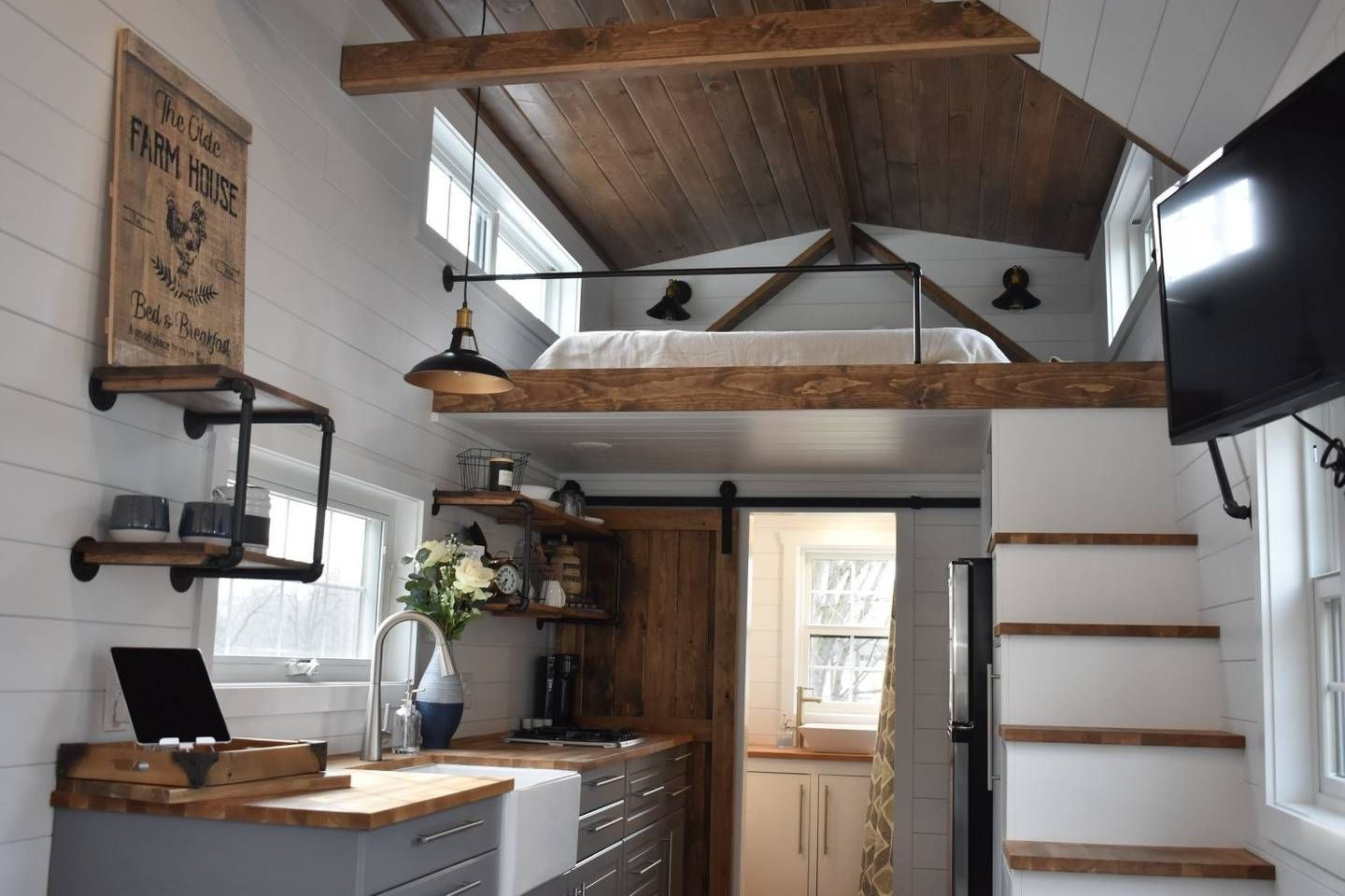 46 Classy Farmhouse Tiny House Design Tiny House Design