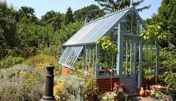 Kleine Gewächshäuser National Trust Greenhouses für