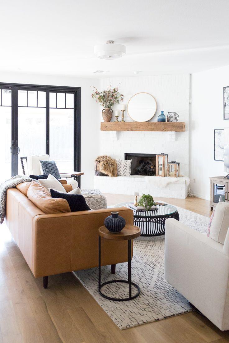 Tulsa Remodel Reveal Modern White Farmhouse images