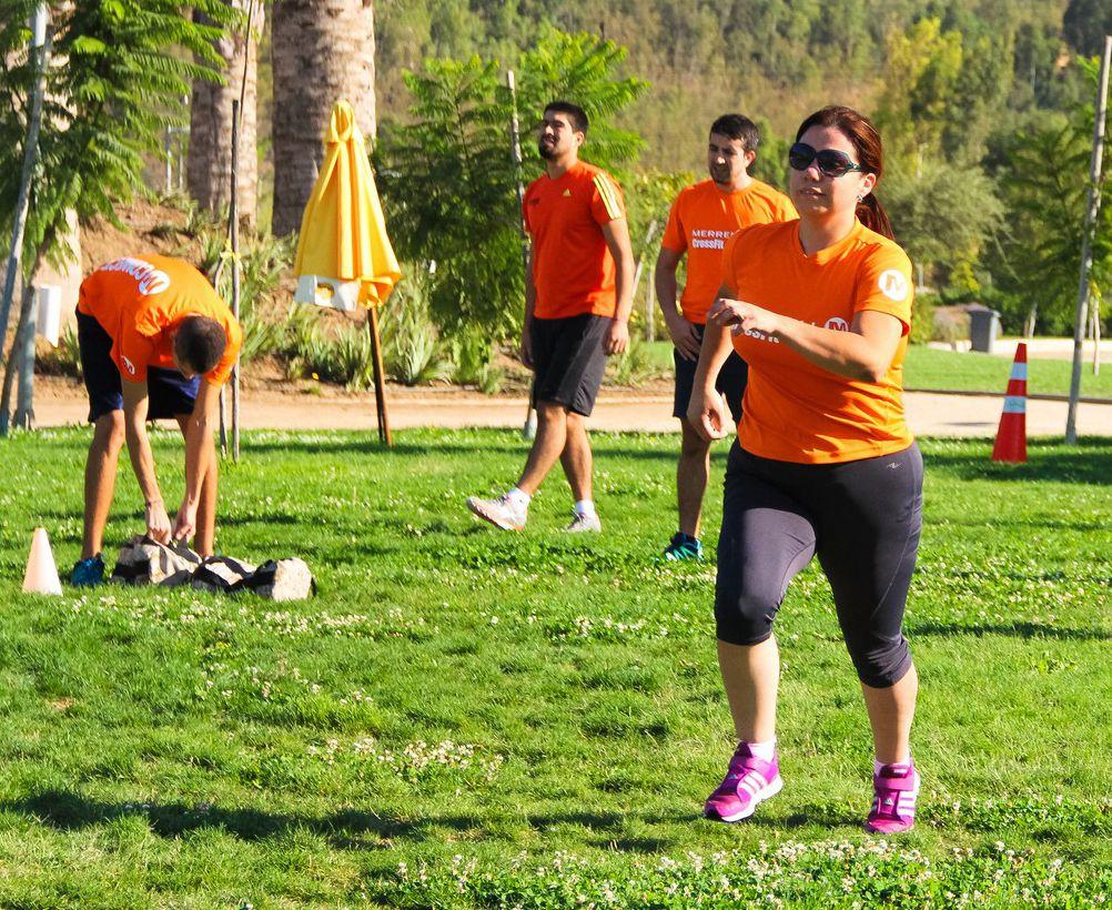 Todos los domingos clases de CrossFit en el Parque Bicentenario, a las 9 y 10 am. No se necesita inscripción previa. ¡Los esperamos!