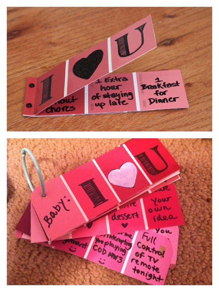 Handmade valentines day inspiration boyfriends coupons and gift handmade valentines day inspiration homemade gifts for boyfriendcheap boyfriend giftsvalentines ideas negle Image collections