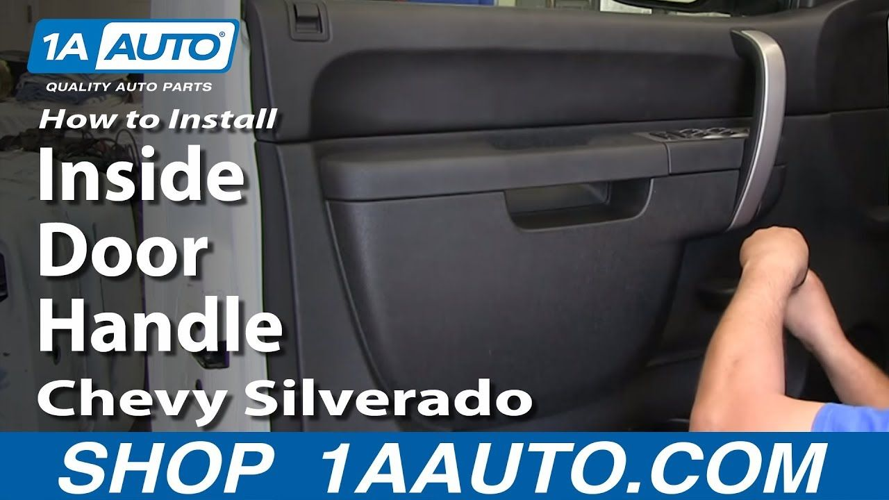 Awesome 08 Silverado Interior Door Handle And Review In 2020 Inside Doors Door Handles Chevy Silverado