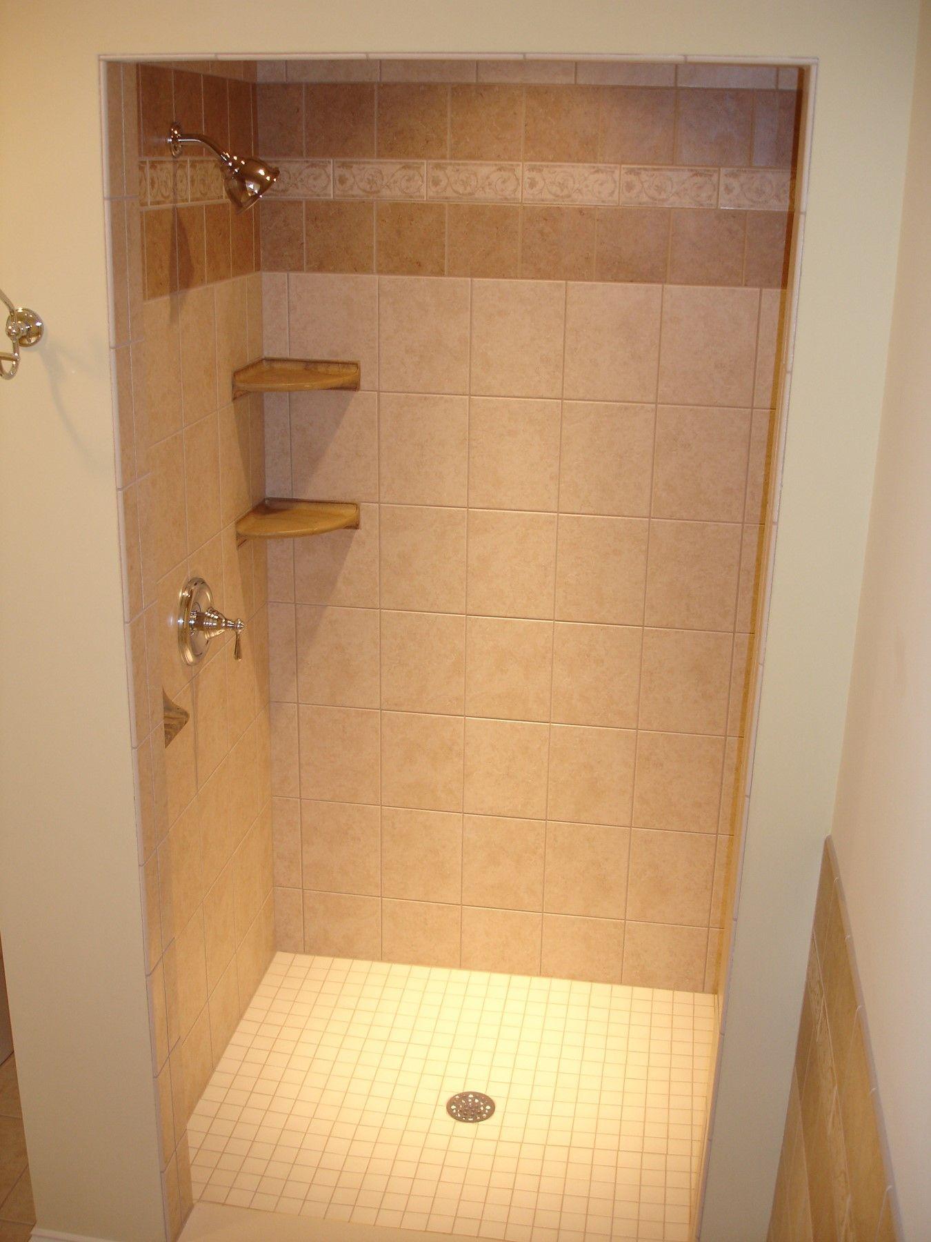 Tile Stand Up Shower Http Hoffmanscc Com Shower Remodel Bathroom Makeover Bathroom Stand