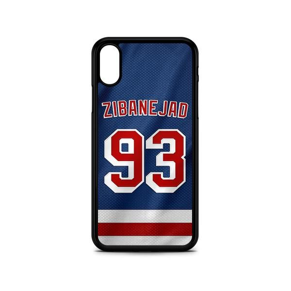 Mika Zibanejad New York Hockey Phone Case New York Rangers