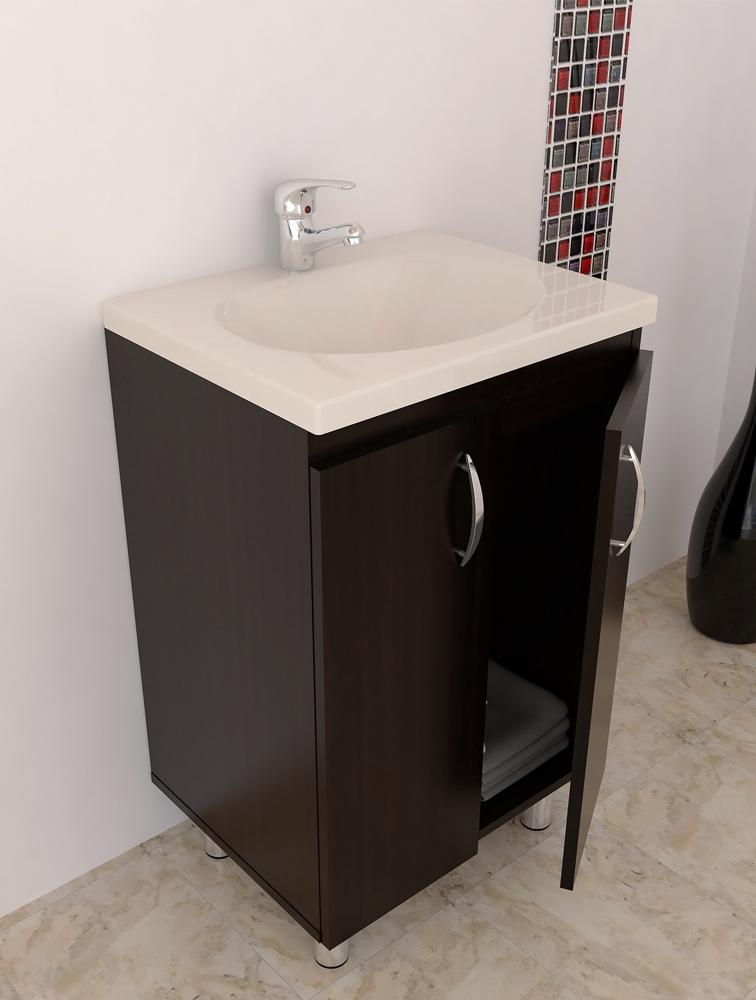 Resultado de imagen para lavamanos en vidrio con mueble for Muebles para lavamanos