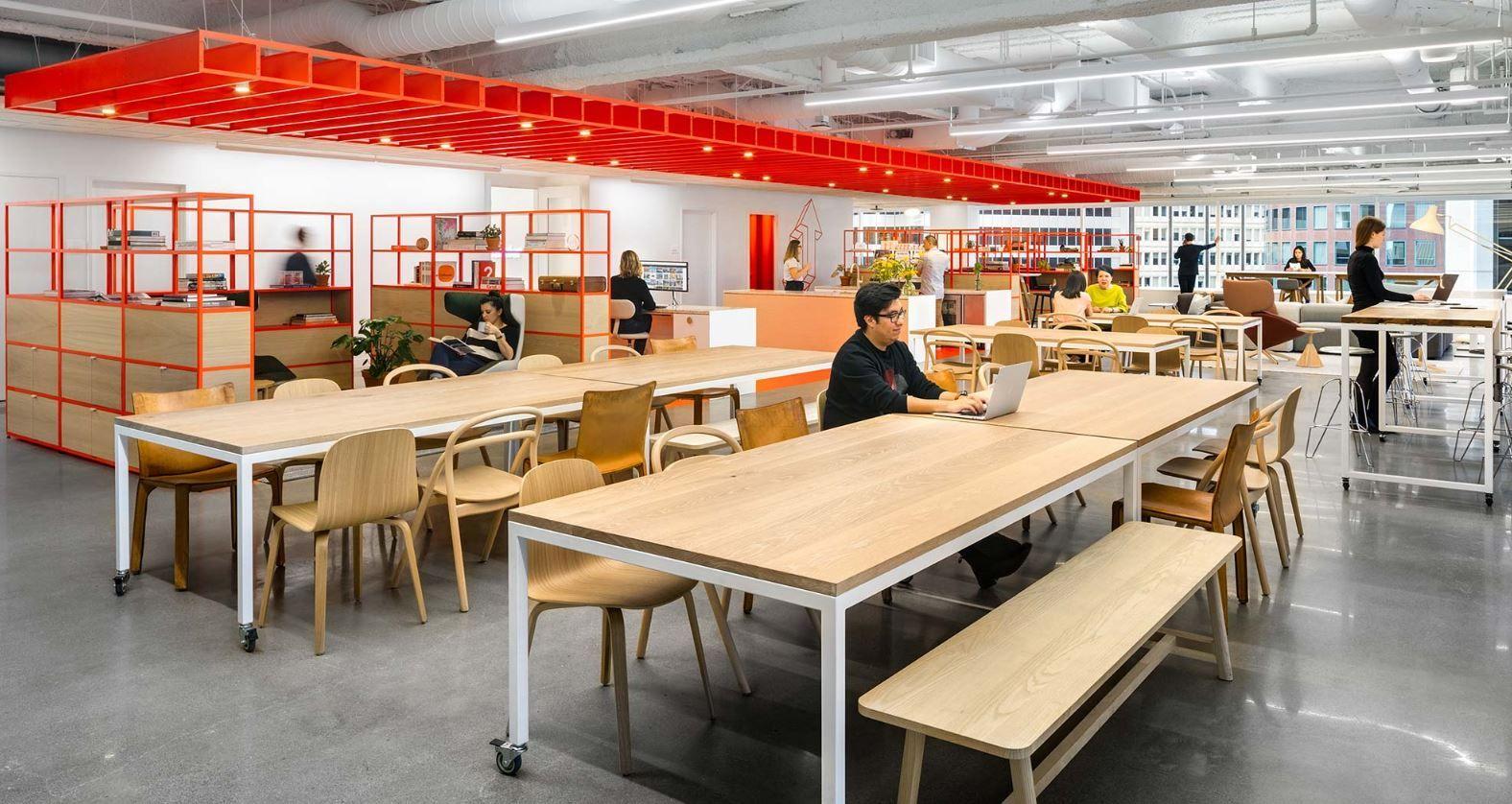 Gensler Fremont Office | Modern interior, Interior, Home ...