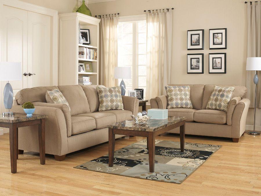 Sloan Latte Sofa U0026 Loveseat #sofa #loveseat #livingroom #rana  #ranafurniture #