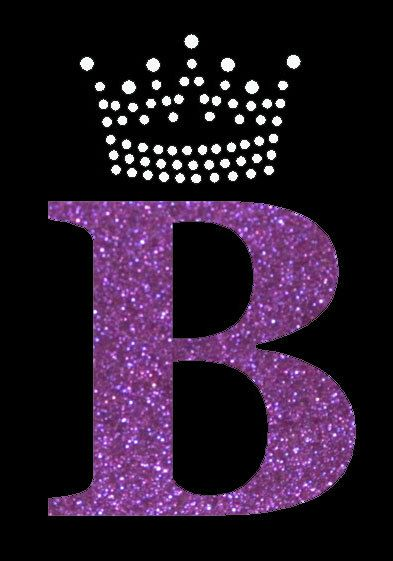 b letter with a crown