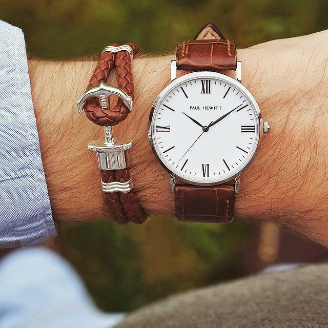 Remarquable Bracelet ancre marine Paul HEWITT (With images) | Watches for men TJ-93