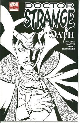 DR STRANGE: THE OATH #1 Great 1/10 ink sketch VARIANT by Marcos Martin! ~NM~ http://r.ebay.com/V7r675
