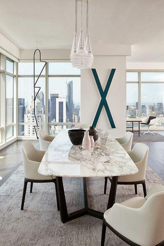 Antecomedor | mesas | Pinterest | Modern apartment design ...