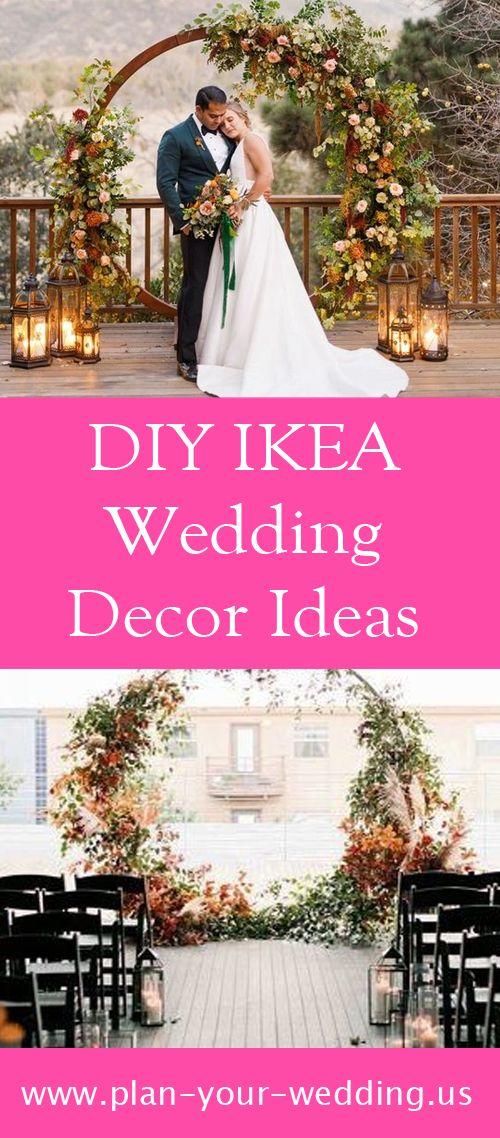 DIY IKEA Wedding Decor Ideas