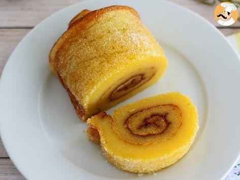 Gâteau roulé à lorange portugais – torta de laranja