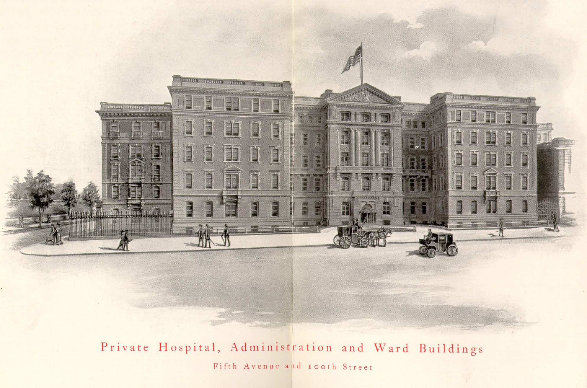 In 1904, The Mount Sinai Hospital moved to its present