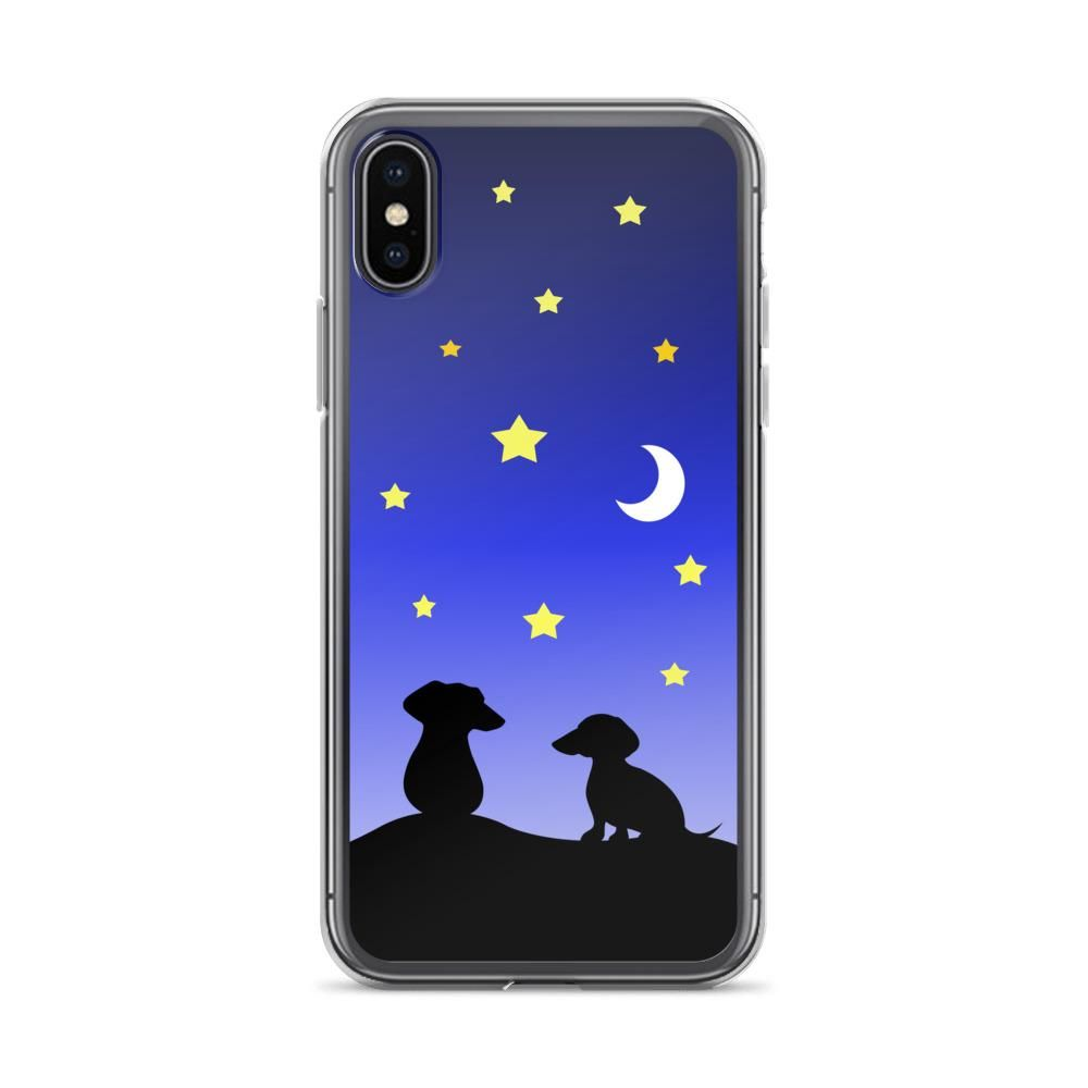 Dachshund night love iphone case iphone iphone cases