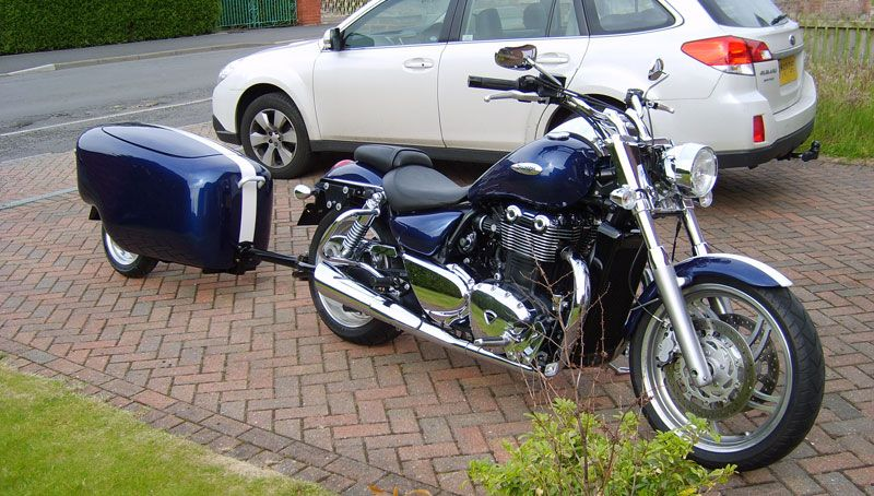 Tourmax Trailer For A Triumph Thunderbird 1600 Motorcycle Trailers