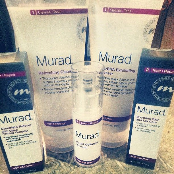 Firstlook Our New Packaging For Our Age Reform Anti Aging Products Same Great Products Fresh New Look Murad Skincare Soothing Skin Anti Wrinkle Treatments