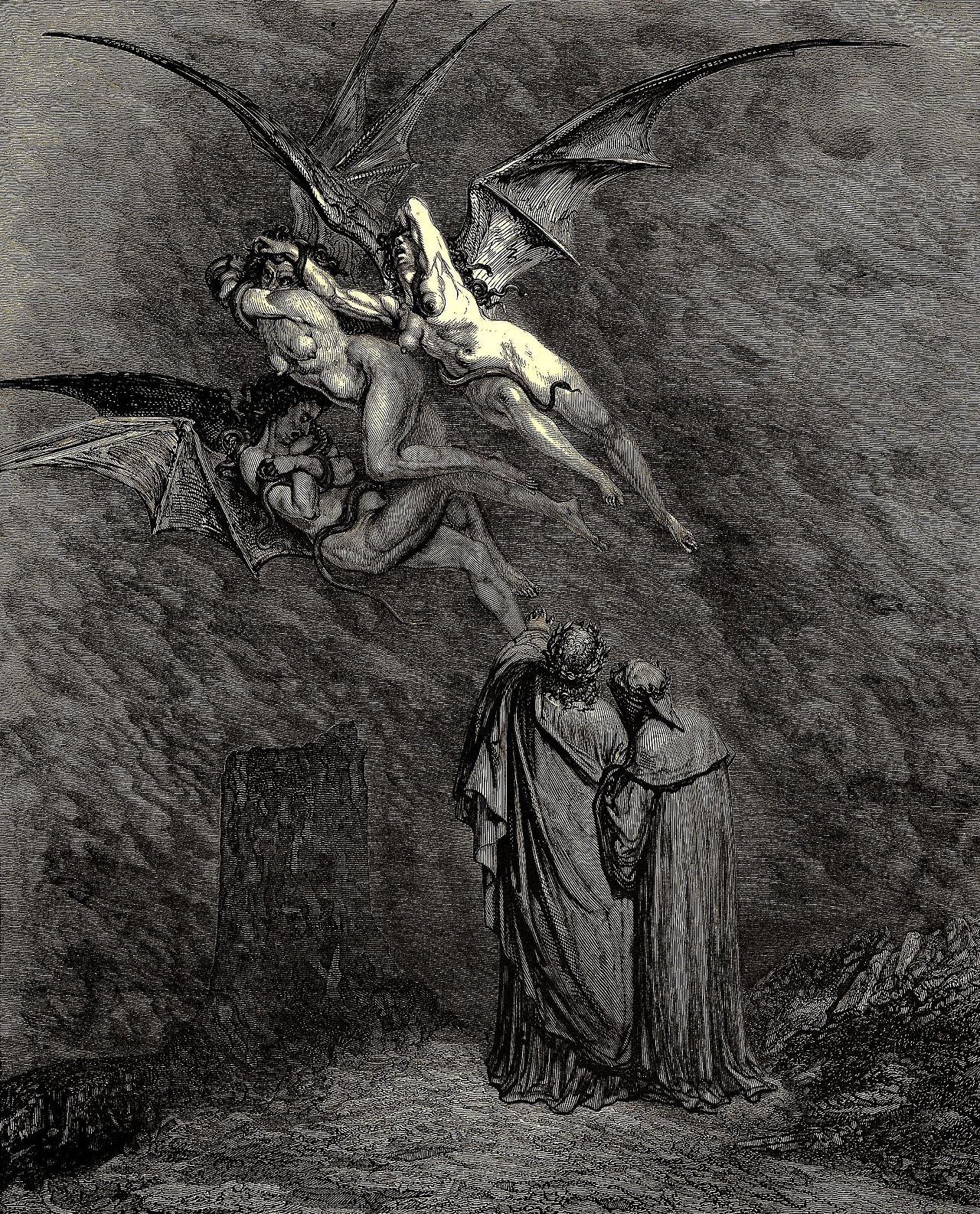 Gustav Doré, Dante illustration