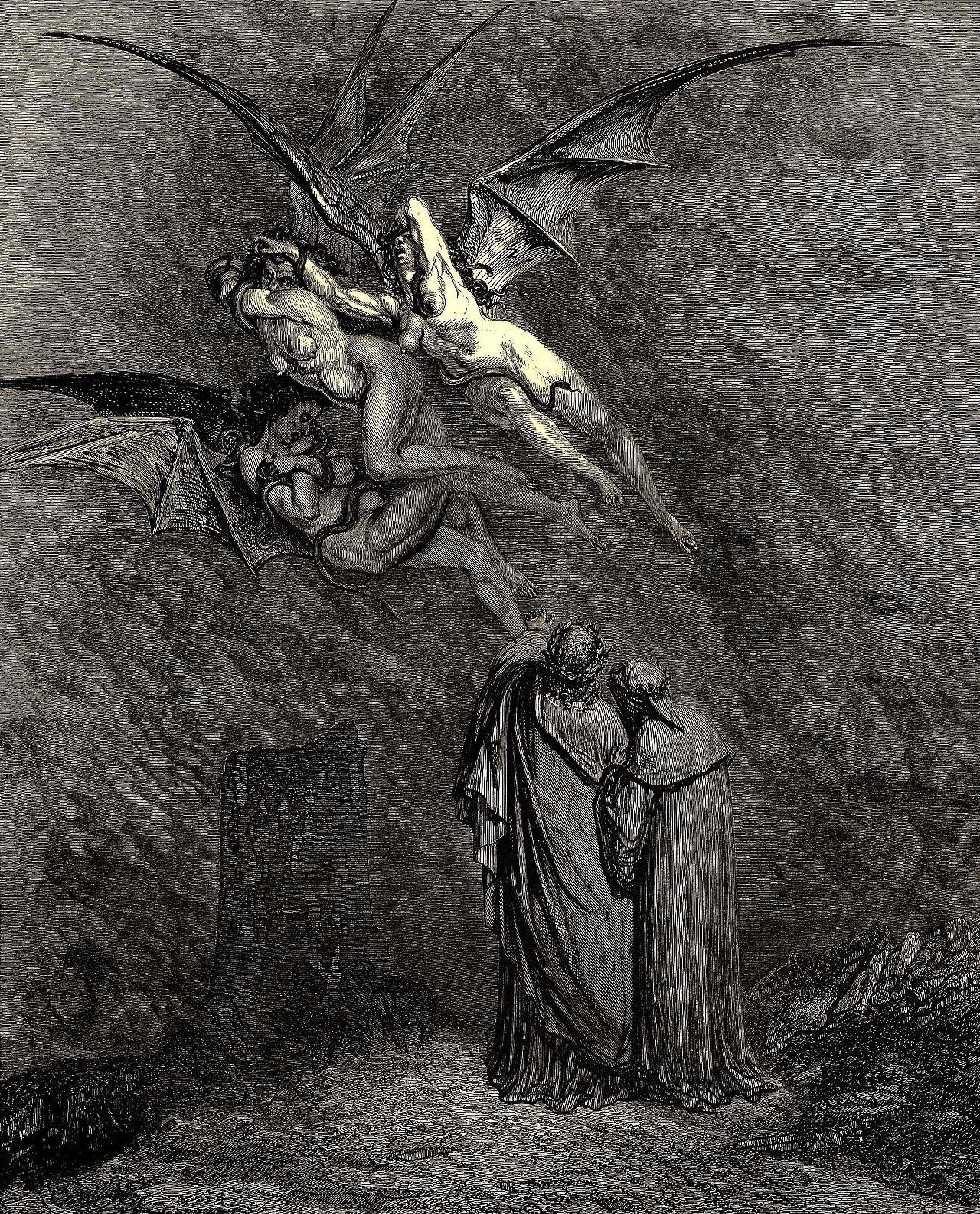 Gustav Doré, Dante illustration