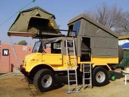 Overland Setup Unimog Mercedes Benz Unimog Vehicles Truck Camper