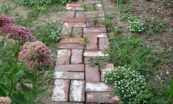 Photo of Aujardin Pinterest Garden Paths regarding Garden Path Edging Ideas