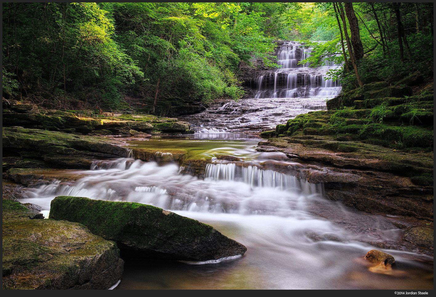 Fallsville Falls by Jordan Steele on 500px