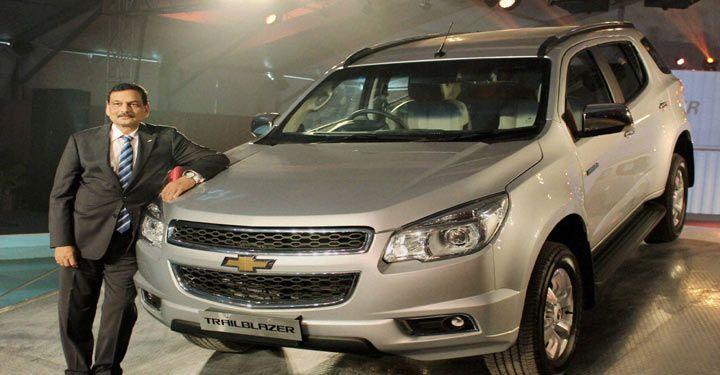 Gm Launches Trailblazer Suv At 26 4 Lakh Chevrolet Trailblazer